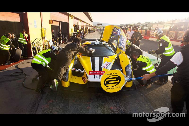 #702 Scuderia Cameron Glickenhaus, SCG SCG003C: Thomas Mutsch, Jeff Westphal, Andreas Simonsen, Felipe Laser