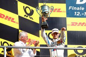 Podium: nummer twee Marco Wittmann, BMW Team RMG