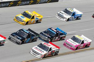 Todd Gilliland, Kyle Busch Motorsports, Toyota Tundra Pedigree Puppy Justin Fontaine, Niece Motorsports, Chevrolet Silverado ProMATIC Automation/Superior Essex Tanner Thorson, Young's Motorsports, Chevrolet Silverado K & L Ready Mix