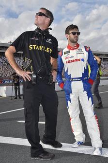 Scott Graves, Daniel Suarez, Joe Gibbs Racing, Toyota Camry Lenox