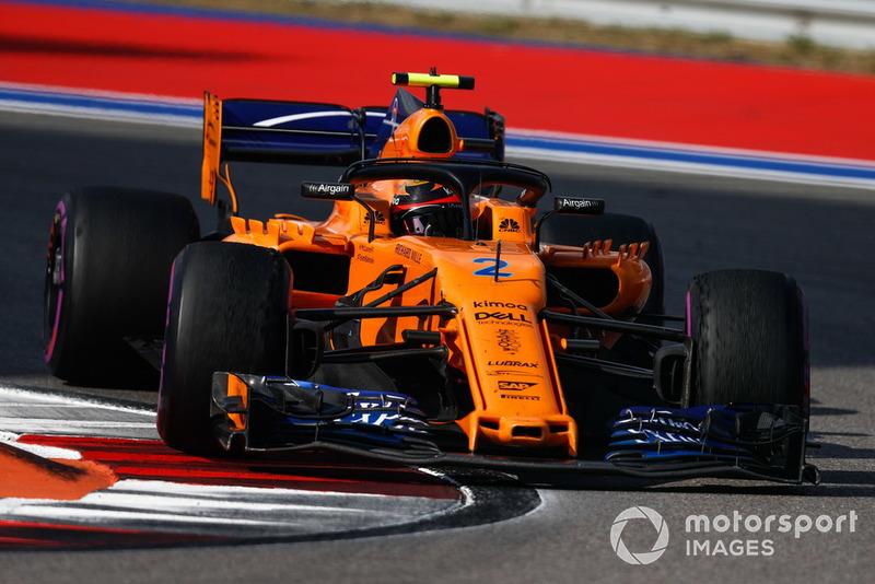16e : Stoffel Vandoorne (McLaren)