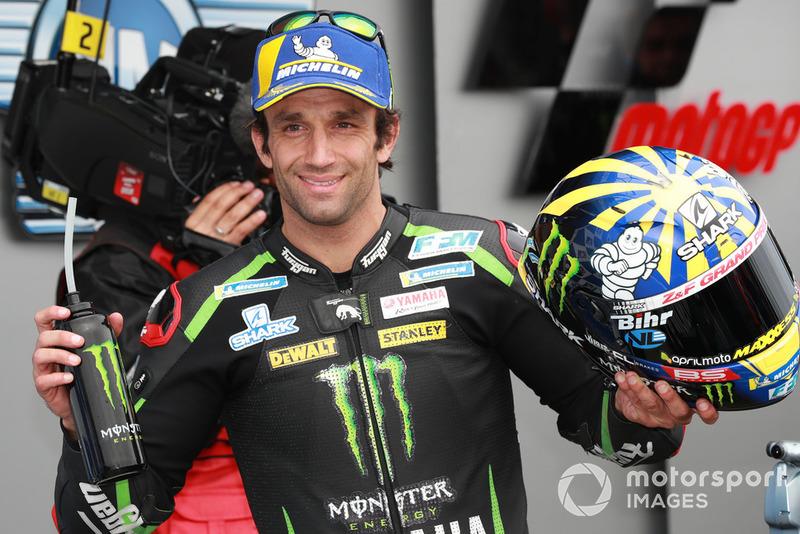 Third place Johann Zarco, Monster Yamaha Tech 3