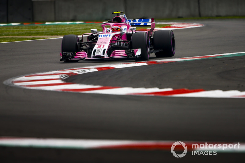 11. Esteban Ocon, Racing Point Force India VJM11