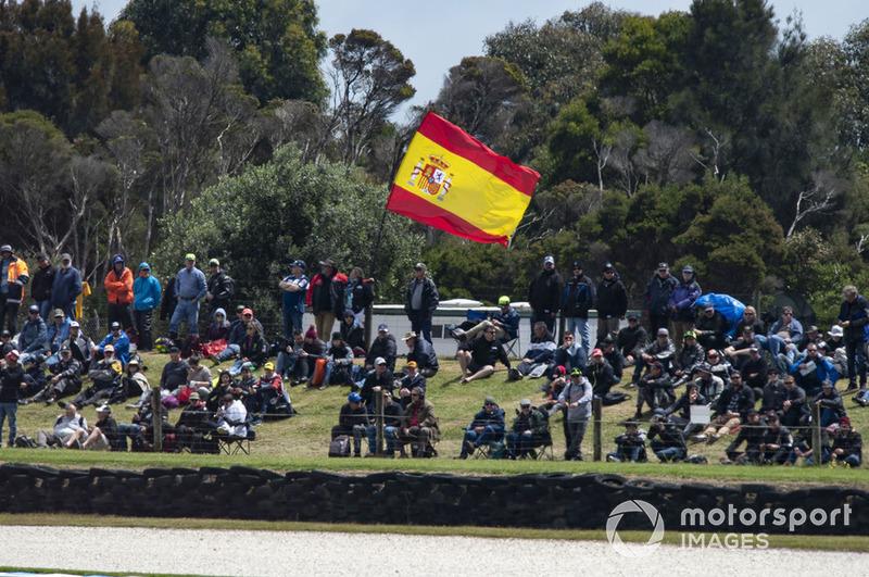 Penonton di Phillip Island