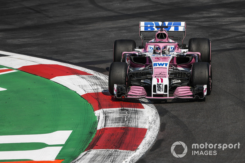 Ausfall: Sergio Perez, Racing Point Force India VJM11