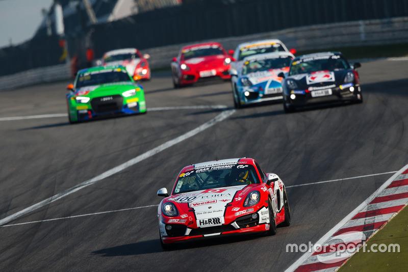 #400 Porsche Cayman S: Christian Büllesbach, Andreas Schettler, Ioannis Smyrlis, Carlos Arimón Solivellas