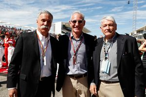 John Malone, Chairman, Greg Maffei, Liberty Media, President and CEO, Liberty Media, and Chase Carey, Chairman, Formula One