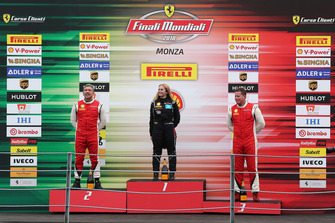 Podio Trofeo Pirelli AM