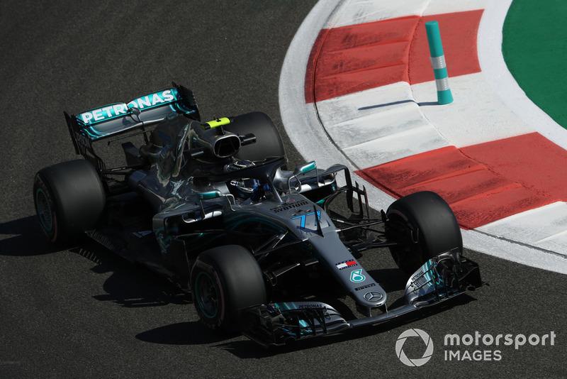 1. Valtteri Bottas, Mercedes-AMG F1 W09