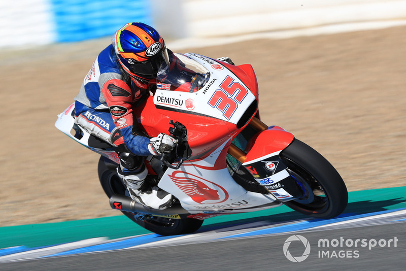 #35 Somkiat Chantra, Honda Team Asia