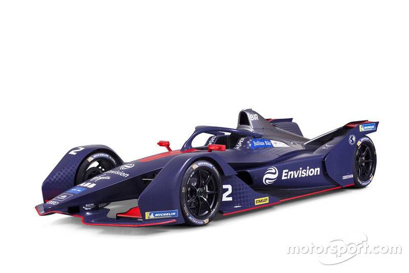 Virgin Racing Gen2 Formule E-bolide