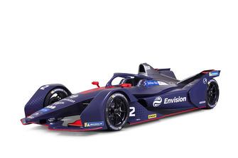 Virgin Racing Gen2 Formula E car