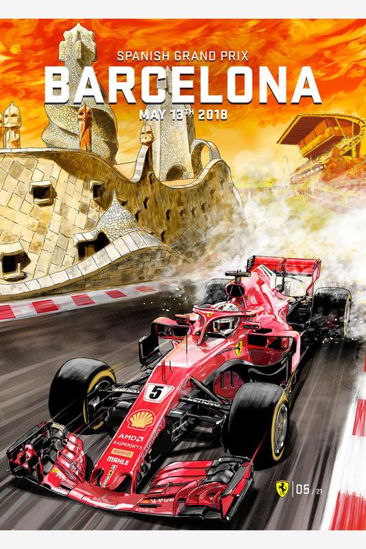 Постер Гран При Испании