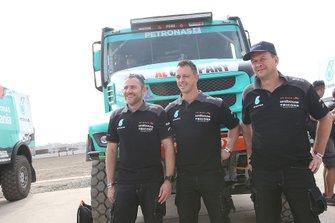 #508 Team De Rooy Iveco: Maurik van den Heuvel, Martijn van Rooij, Peter Kuijpers