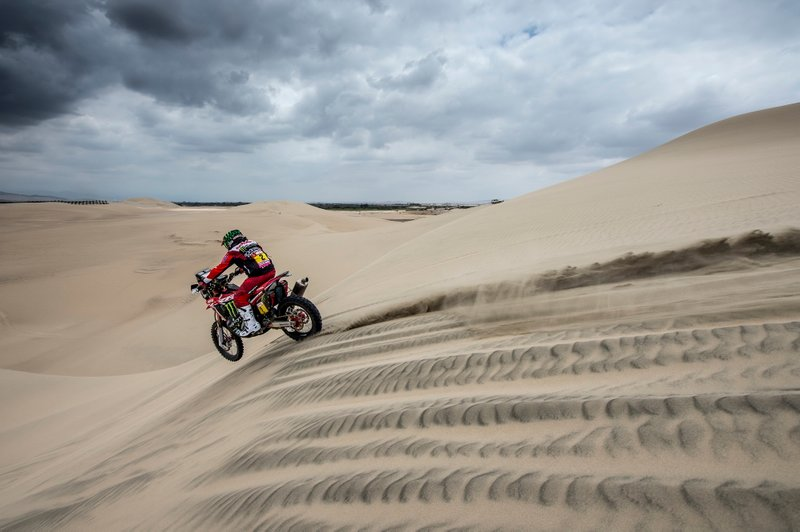 #2 Monster Energy Honda Team Honda: Paulo Goncalves