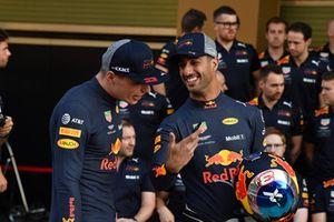Max Verstappen en Daniel Ricciardo, Red Bull Racing