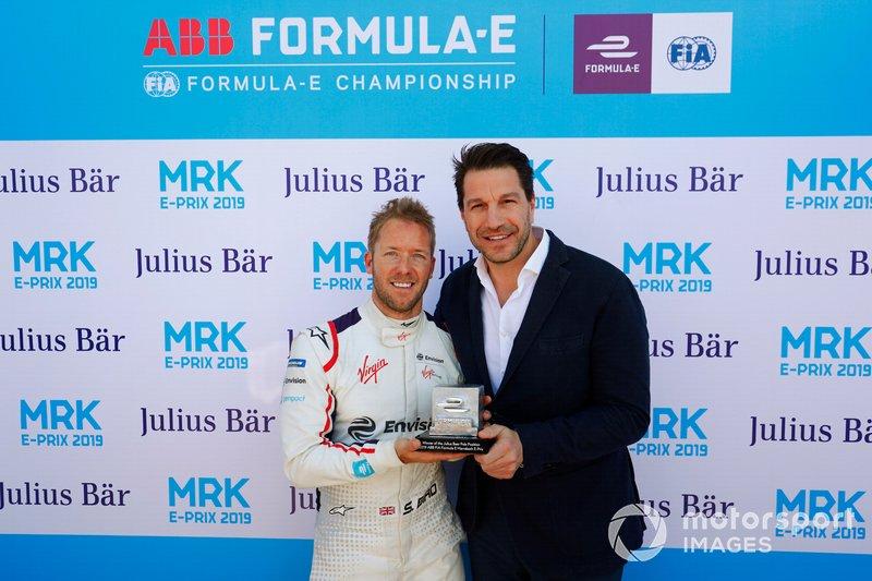 Sam Bird, de Envision Virgin Racing, logró la pole en el ePrix de Marrakech
