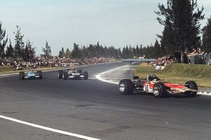 Graham Hill, Lotus 49B Ford, Jo Siffert, Lotus 49B Ford, Jackie Stewart, Matra MS10 Ford