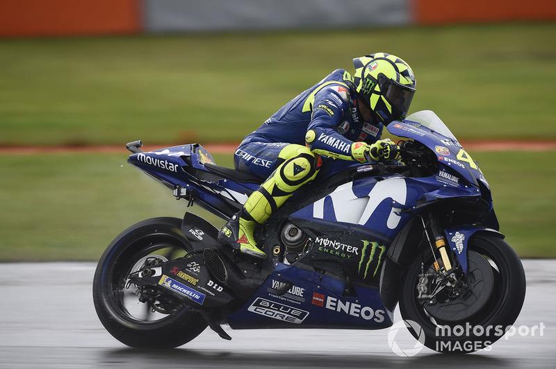 Rossi y Yamaha ya estrenaron un deflector en Valencia el año pasado, pero era para evacuar agua en lluvia