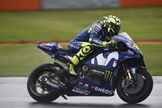 Valentino Rossi, Yamaha Factory Racing, na crash