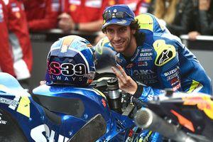 Tweede plaats Alex Rins, Team Suzuki MotoGP