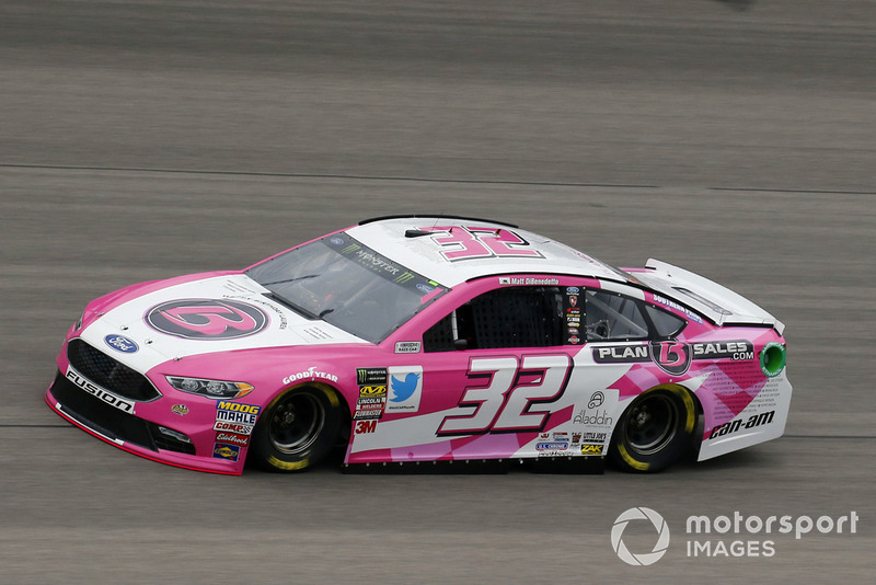 31. Matt DiBenedetto, Go FAS Racing, Ford Fusion Plan B Sales