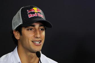 Daniel Ricciardo, HRT Formula 1 Team in the FIA Press Conference