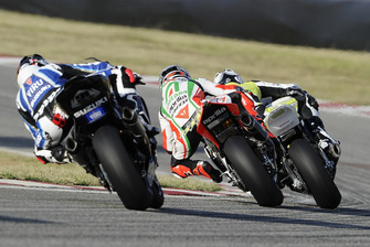Jonathan Rea, HANNspree Ten Kate Honda, Max Biaggi, Aprilia Alitalia Racing, Leon Haslam, Team Suzuki Alstare