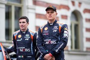 Craig Breen, Hyundai Motorsport, Ott Tänak, Hyundai Motorsport