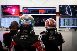 Kazuki Nakajima, Toyota Gazoo Racing, Jose Maria Lopez, Toyota Gazoo Racing