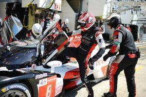 Kazuki Nakajima, #8 Toyota Gazoo Racing Toyota GR010 - Hybrid Hypercar