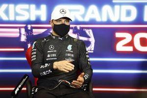 Valtteri Bottas, Mercedes, 1st position, in the Press Conference