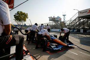 Felix Rosenqvist, Arrow McLaren SP Chevrolet, miembros del equipo