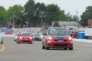 Coupe Nissan Micra race action