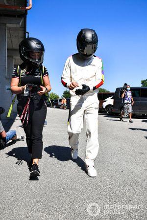 Angela Cullen, Physio for Lewis Hamilton and Lewis Hamilton, Mercedes