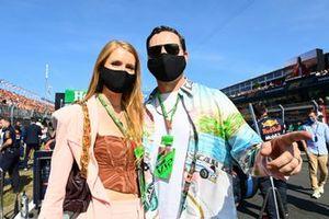 Tijs Michiel Verwest, known as DJ Tiesto, and his wife Annika Backes