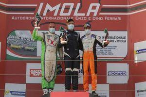 Podio DSG Gara 1: Marco Butti, Elite Motorsport, Sabatino Di Mare, DMP Motors, Denis Babuin, Bolza Corse