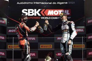 2. Scott Redding, Aruba.It Racing - Ducati, 3. Loris Baz, Team GoEleven