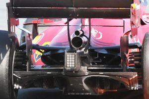 الناشر الخلفي لسيارة فيراري اس.اف21