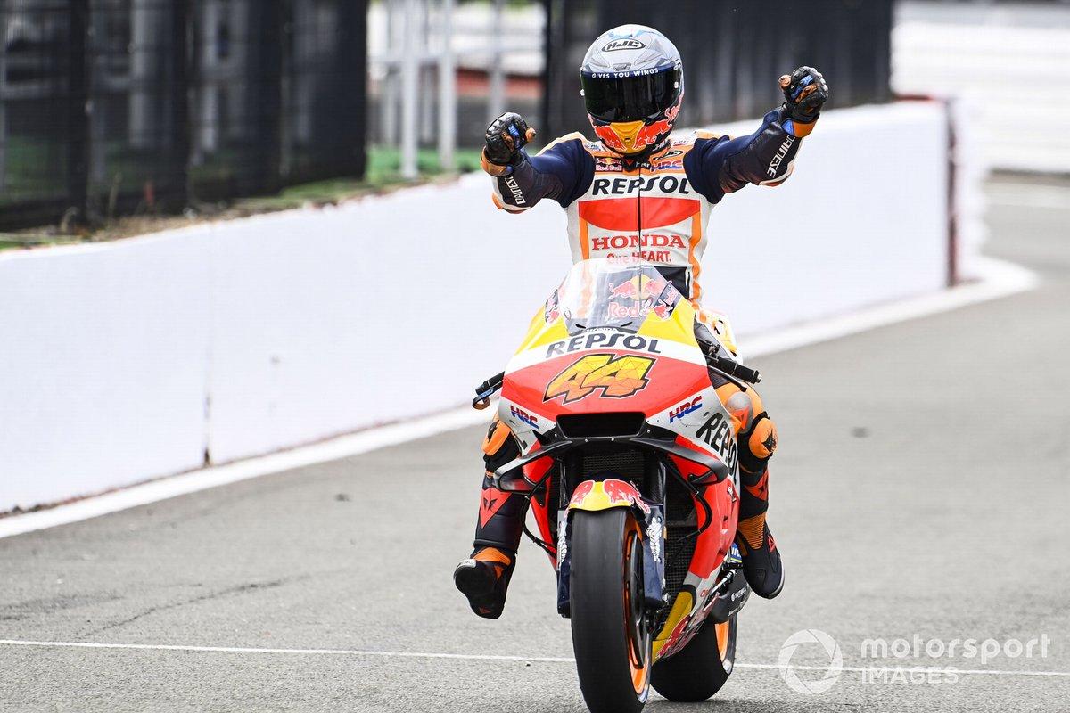 Ganador de la pole Pol Espargaró, Repsol Honda Team