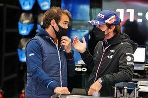 Fernando Alonso, André Negrão, Alpine