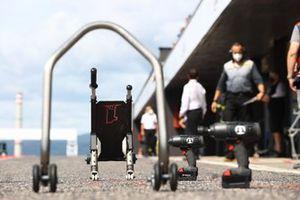 Jonathan Rea, Kawasaki Racing Team WorldSBK paddock stand, front wheel lift