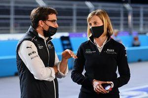Jerome d'Ambrosio, Deputy Team Principal, Venturi Racing, Susie Wolff, Team Principal, Venturi Racing