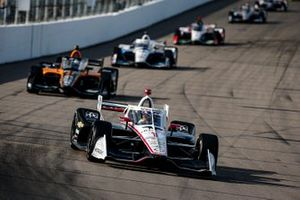 Josef Newgarden, Team Penske Chevrolet, Patricio O'Ward, Arrow McLaren SP Chevrolet