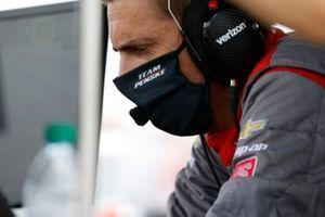Will Power, Team Penske Chevrolet, engineer