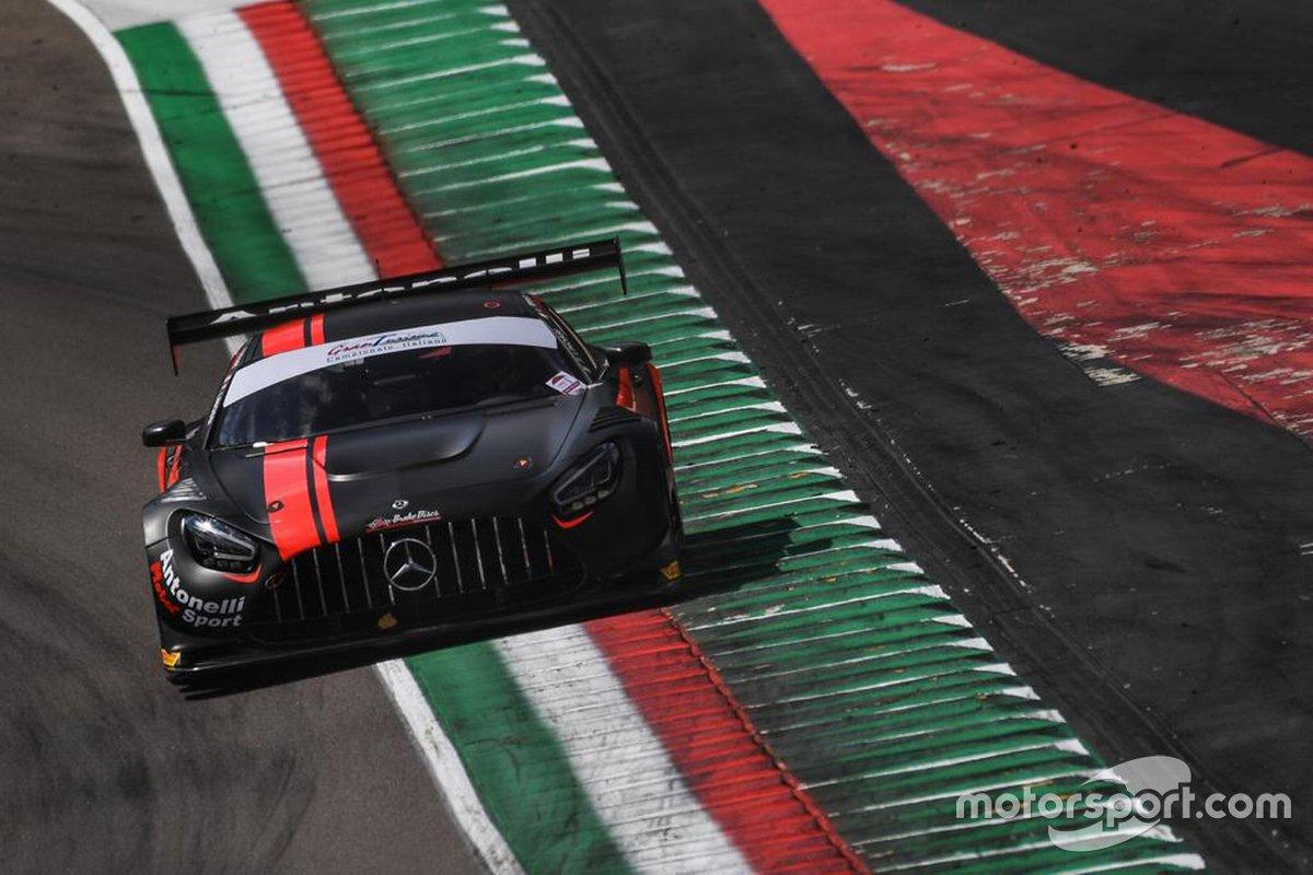 Francesca Linossi, Lorenzo Ferrari, Benjamin Hites, AKM Motorsport, Mercedes AMG GT3
