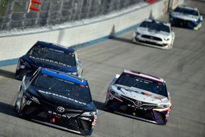 Martin Truex Jr., Joe Gibbs Racing, Toyota Camry SiriusXM, Denny Hamlin, Joe Gibbs Racing, Toyota Camry FedEx Office
