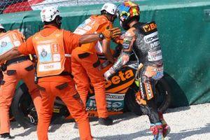 Jorge Navarro, Speed Up Racing after crash