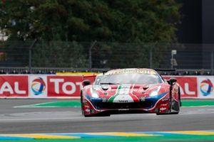 #51 AF Corse - Ferrari 488 GTE EVO: Alessandro Pier Guidi, James Calado, Daniel Serra