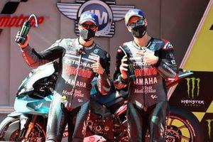 Franco Morbidelli, Petronas Yamaha SRT, Fabio Quartararo, Petronas Yamaha SRT